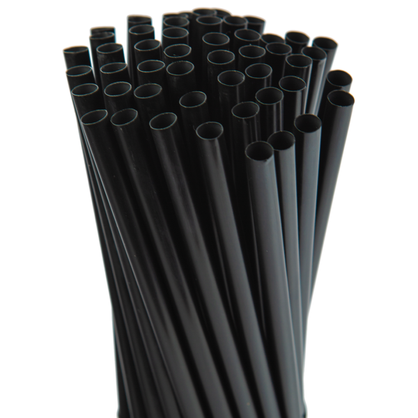 7.75″ Black Giant Straw