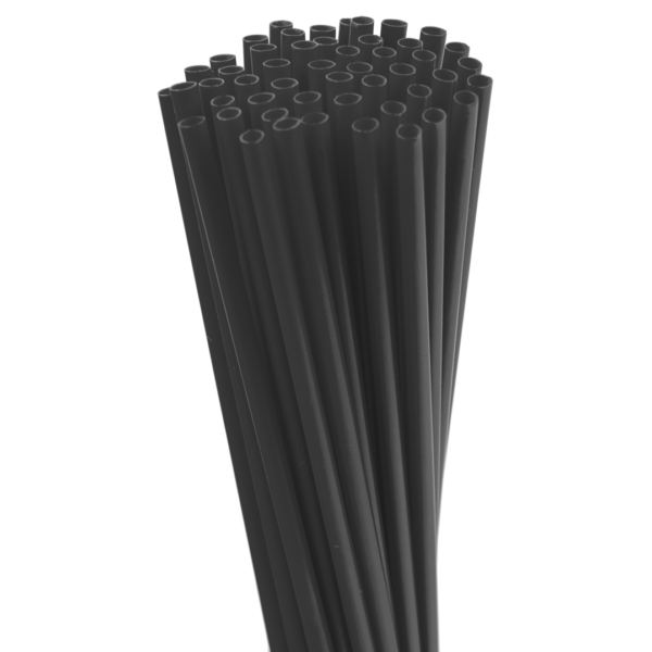 5.25″ Black Sip Straw