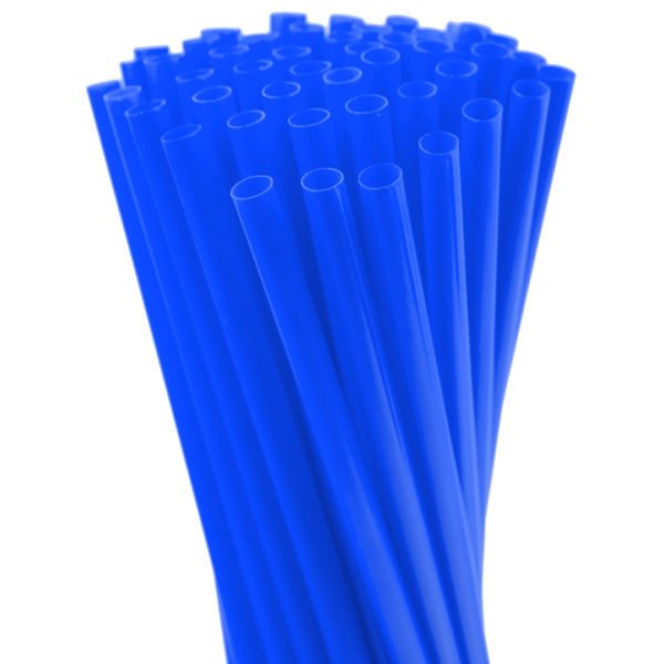 8″ Blue Fat Straw