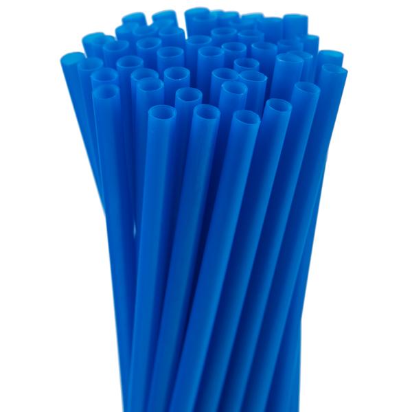 5.75″ Blue Jumbo Straw