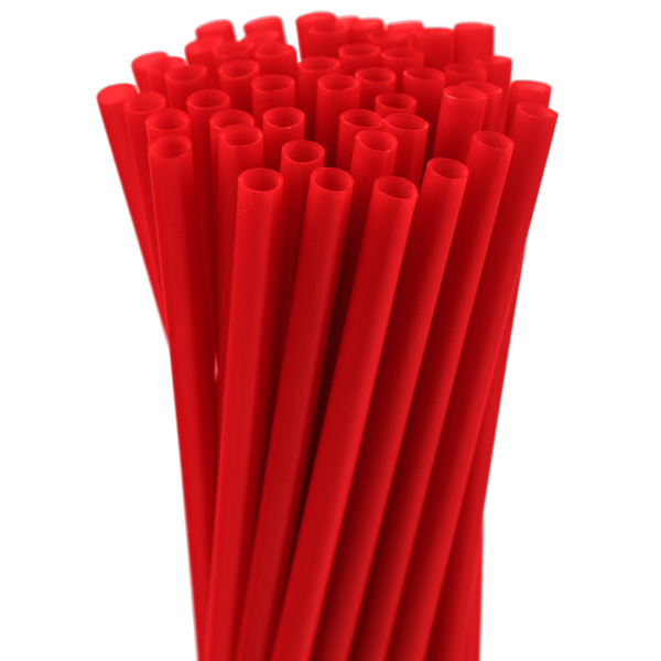 5.75″ Red Jumbo Straw