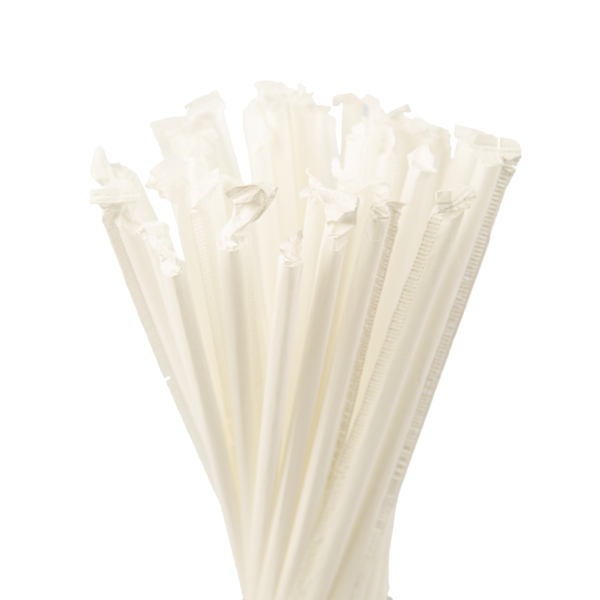 7.75″ Clear Jumbo Straw
